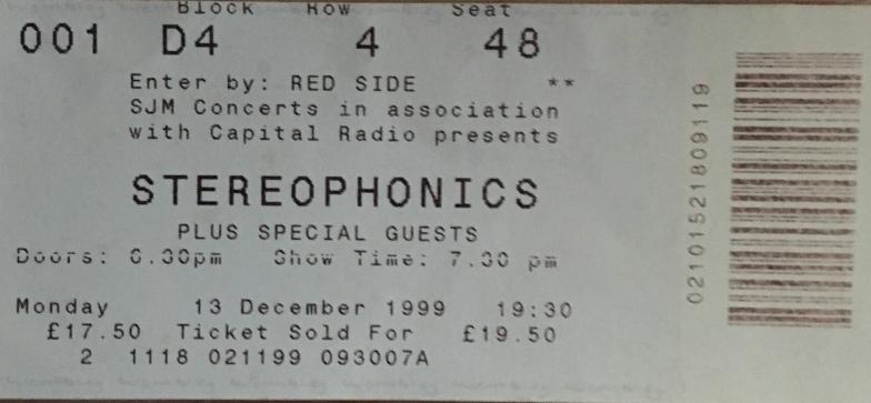 Steroephonics London 99