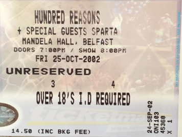Hundred Reasons Mandela Hall