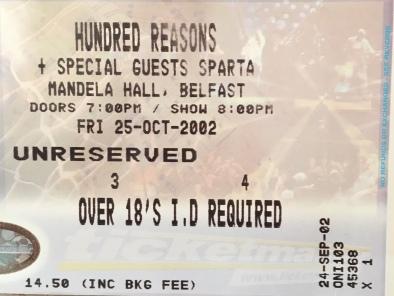 Hundred Reasons Mandela Hall