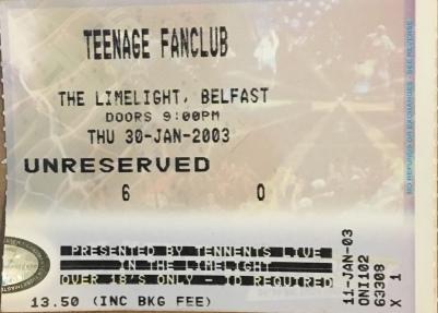 TEENAGE FAN CLUB
