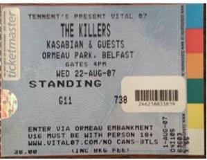 KILLERS VITAL