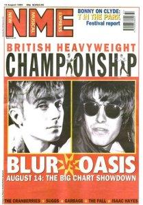 Oasis v Blur